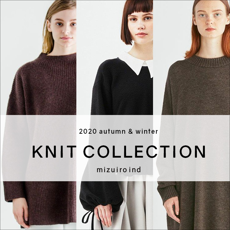 2020 autumn & winter KNIT COLLECTION