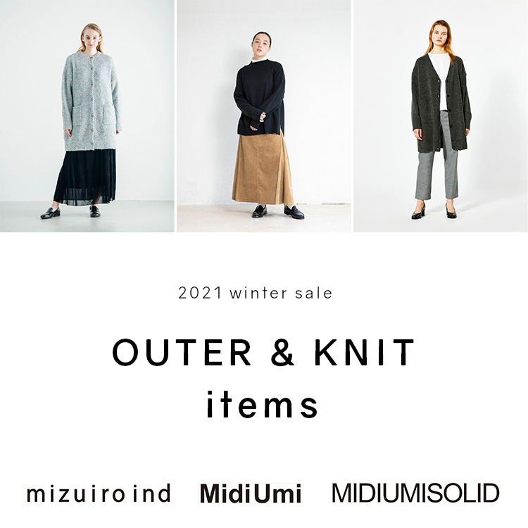 OUTER & KNIT ITEMS