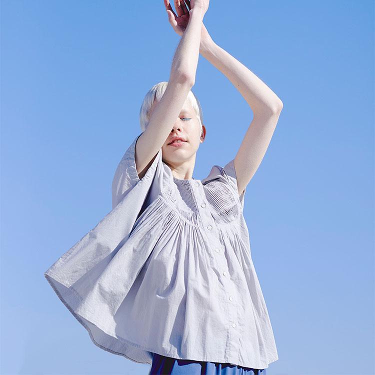 "ELLE デジタル掲載 21 Spring & Summer ""Clear"" LOOKBOOK – mizuiro ind  –"