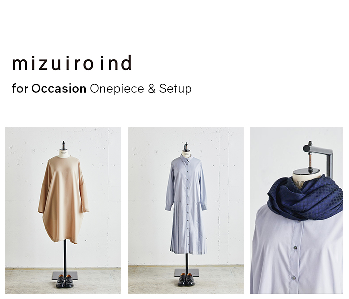 mizuiro ind for Occasion