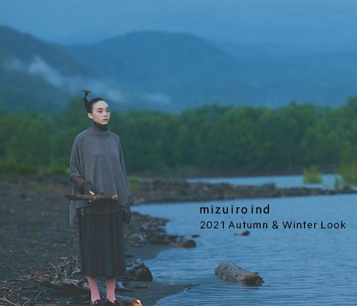 mizuiro ind 2021 autumn & winter look