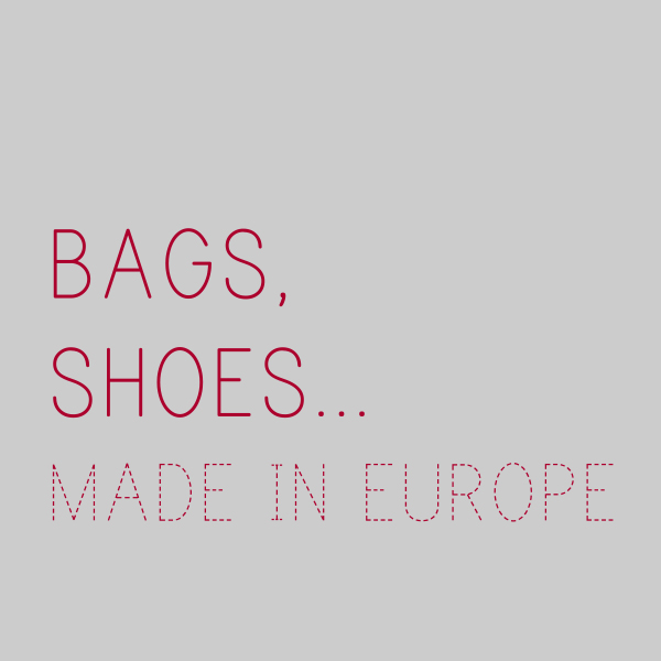 BAGS, SHOES… MADE IN EU...の写真