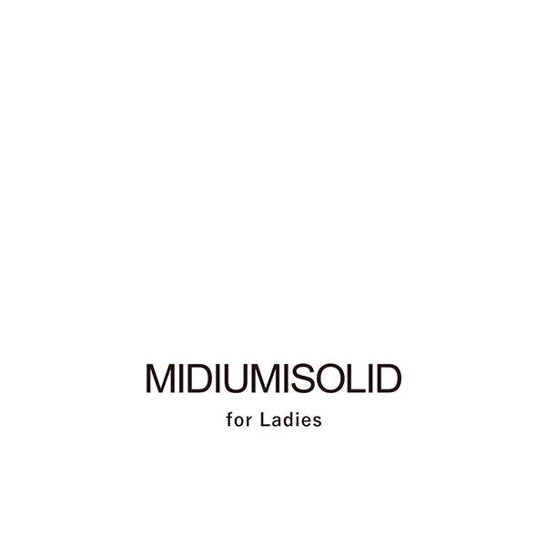 「NEW BRAND MIDIUMISOLID FOR LADIES DEBUT」の写真