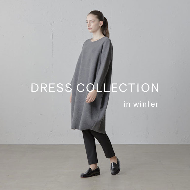 dress collection in winterの写真