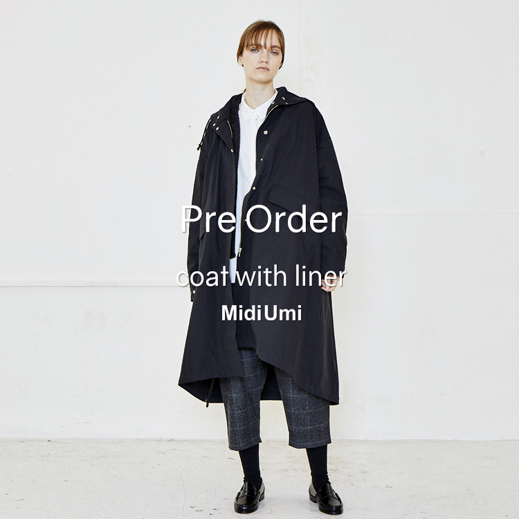 【予約受付】MidiUmi コートの写真