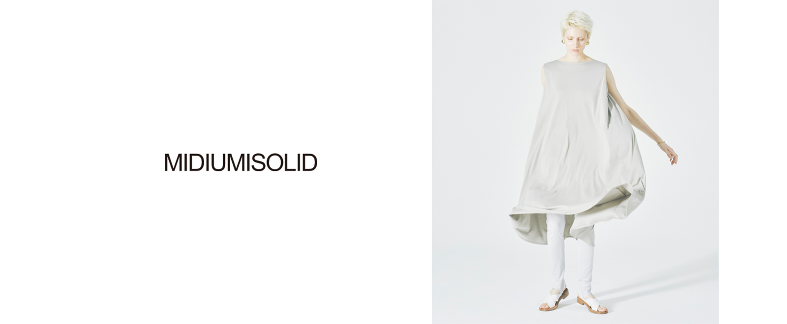 MIDIUMISOLID for Ladies 2020summer