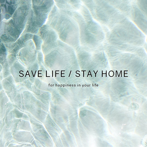 「SAVE LIFE / STAY HOME」の写真